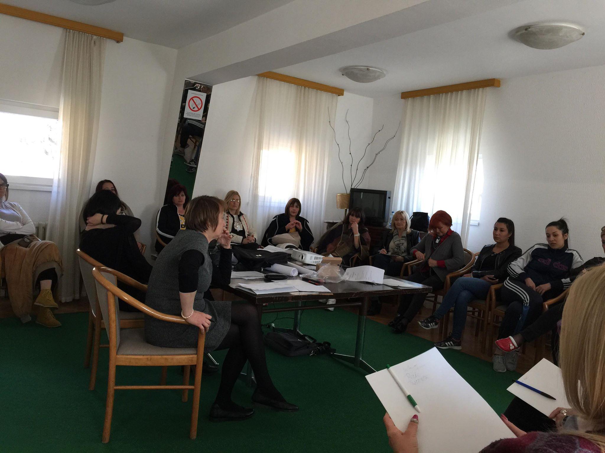 Udruzenje zena Pescanik - Redovni sastanak Mreže žena Rasinskog okruga