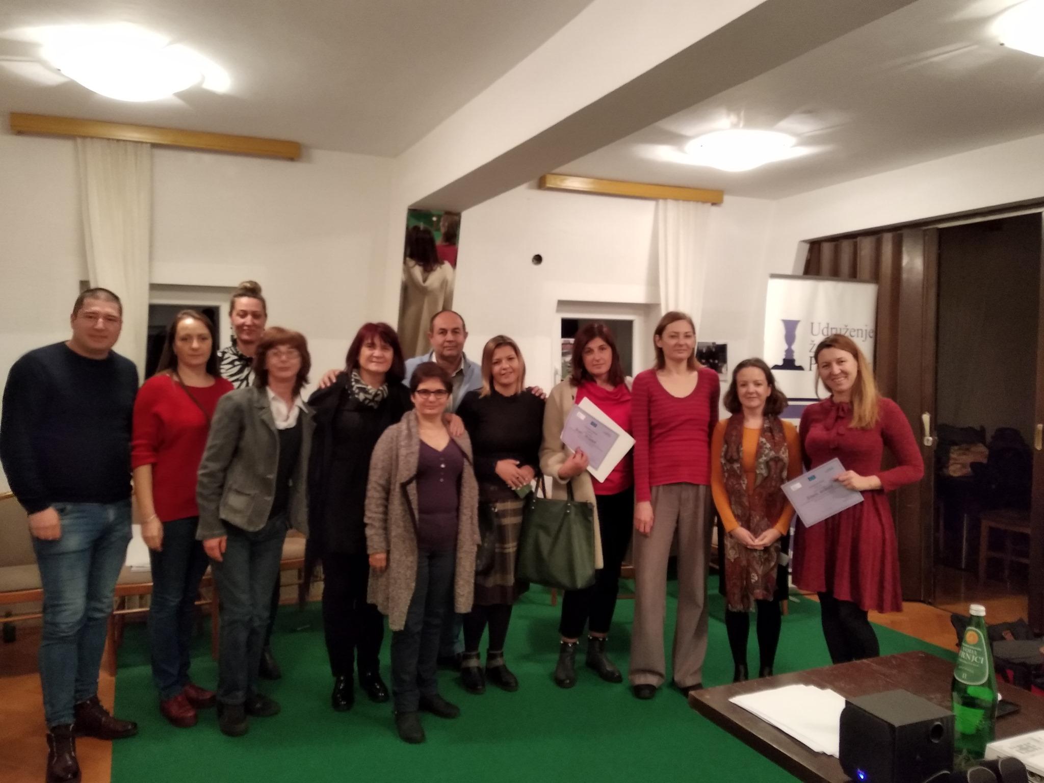 Udruzenje zena Pescanik - Trening za trenere i trenerice o nasilju u porodici prema višestruko diskriminisanim ženama