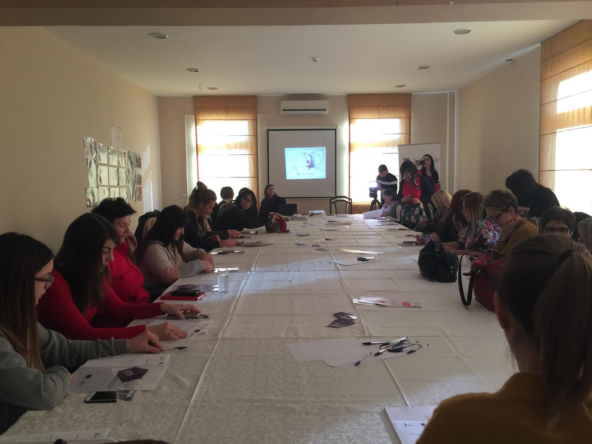 Udruzenje zena Pescanik - Predstavljanje rezultata istraživanja među ženama na selu, Romkinjama i ženama sa invaliditetom u Šumadijskom, Jablaničkom i Rasinskom okrugu o iskustvima nasilja u porodici