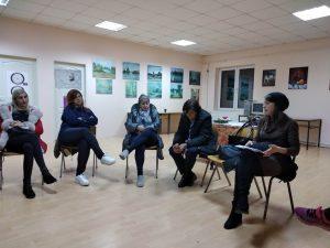 Rad na povećanju informisanosti žena u seoskim, prigradskim i romskim naseljima u Šumadijskom, Jablaničkom i Rasinskom okrugu o temi nasilja u porodici
