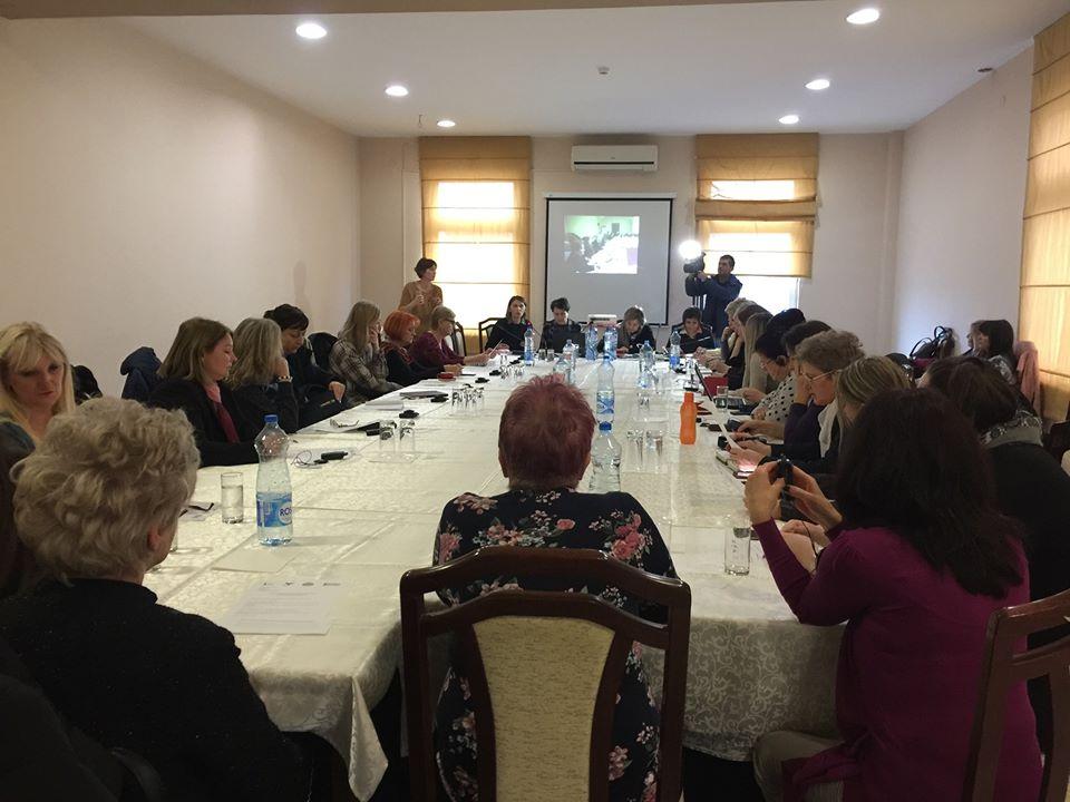 Udruzenje zena Pescanik - Okrugli sto o primeni Rezolucije 1325