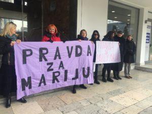Skup podrške Mariji Lukić i svim ženama koje su preživele seksualno nasilje