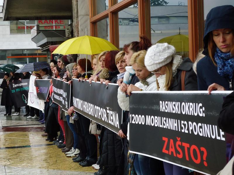 Udruzenje zena Pescanik - Saopštenje povodom 21. godišnjice majskih protesta protiv prisilne mobilizacije u Kruševcu i Rasinskom okrugu, 1999.