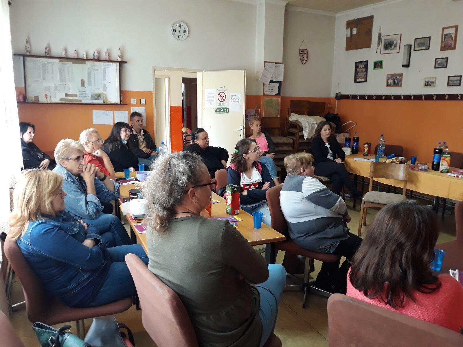 Udruzenje zena Pescanik - Radionica o nasilju u porodici za žene sa invaliditetom