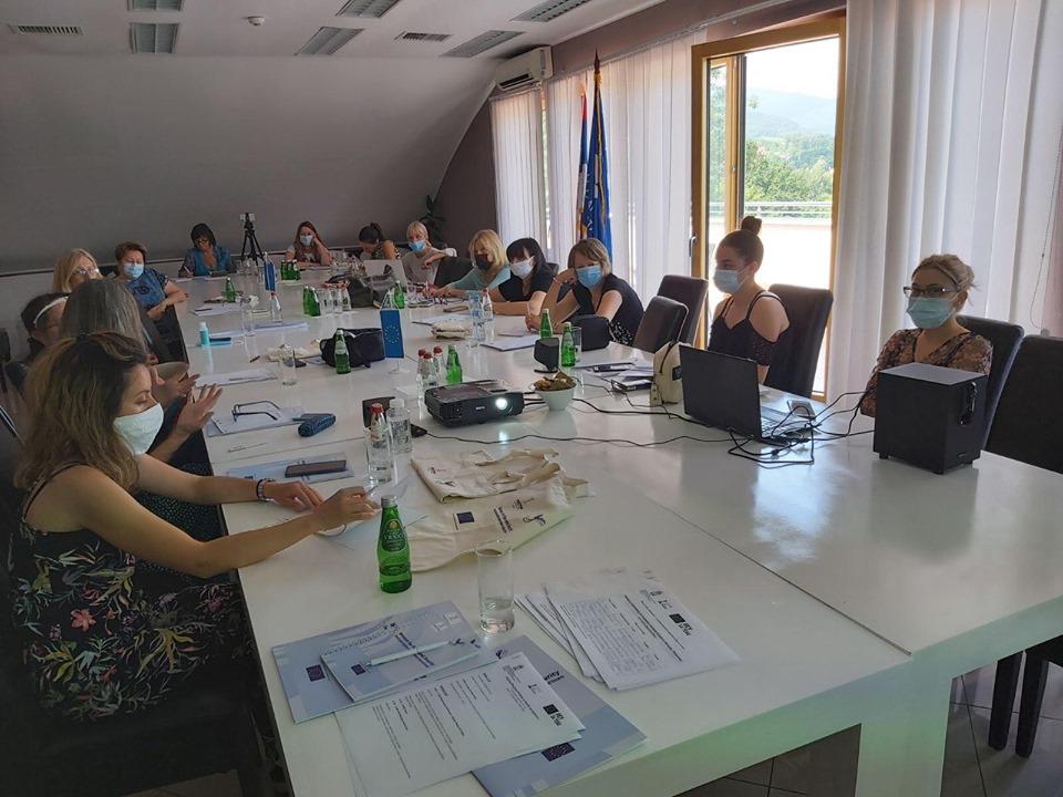 Udruzenje zena Pescanik - Žene za mir i bezbednost – Istraživačka radionica