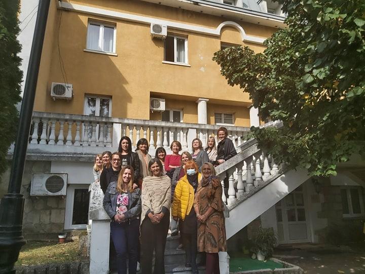 Udruzenje zena Pescanik - Sastanak Mreže žena Rasinskog okruga
