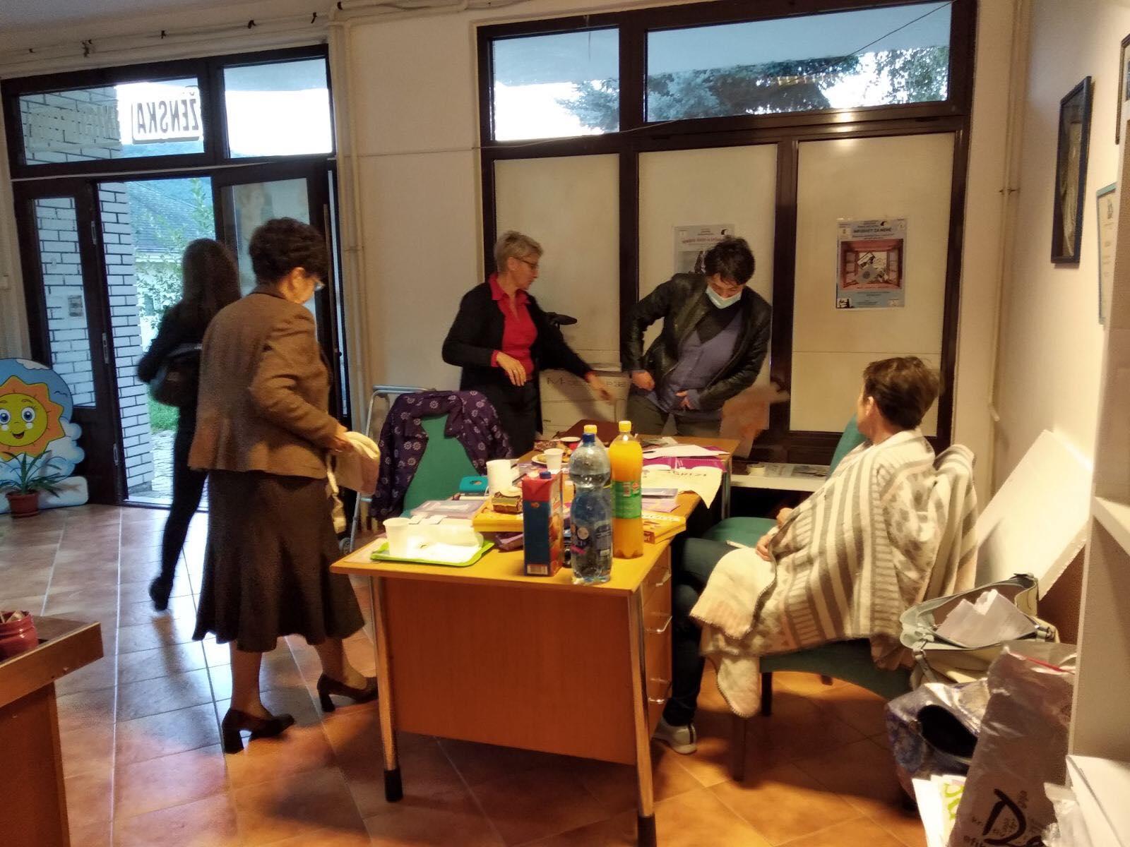 Udruzenje zena Pescanik - Radionica za žene sa ruralnih područija – Trstenik